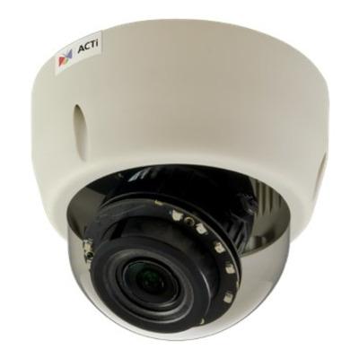 ACTi E610 Beveiligingscamera - Zwart, Wit