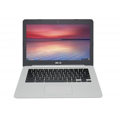 Asus laptop: Chromebook C301SA-R4004 - Grijs, Zilver