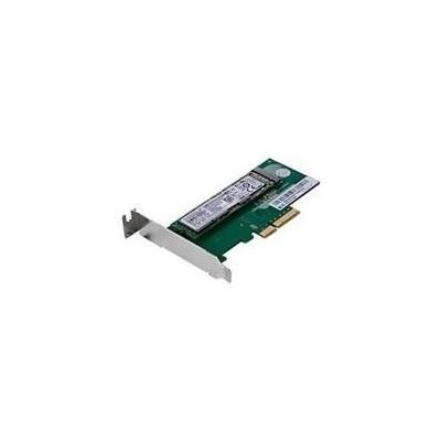 Lenovo interfaceadapter: M.2.SSD Adapter-high profile - Groen