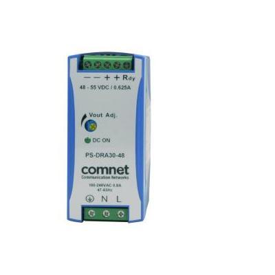 ComNet 30W, 85 - 375V, 47/63Hz, 0.33A, 40.5x114x90mm, 270g, Blue/Grey Power supply unit - Blauw, Grijs