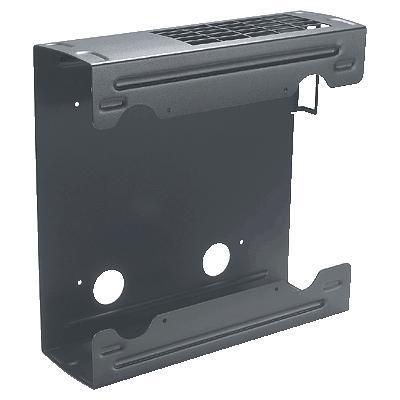 Hp montagekit: (2013) small form factor beveiligingsrek voor wandmontage - Zwart