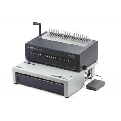 Gbc inbindmachine: CombBind C800Pro Pons-Bindmachine voor Plastic Bindruggen - Grijs