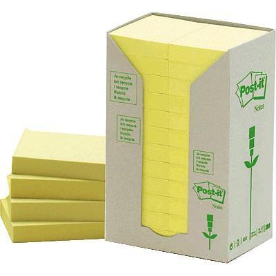 Post-it etiket: 653-1T - Geel