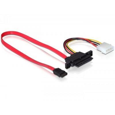 Delock ATA kabel: Backplane SATA cable - Rood