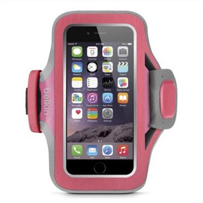 Belkin mobile phone case: Slim-Fit Plus-armband voor iPhone 6 - Roze
