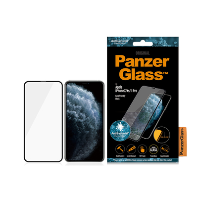 PanzerGlass Apple iPhone X/Xs/11 Pro Edge-to-Edge Anti-Bacterial Screen protector - Transparant