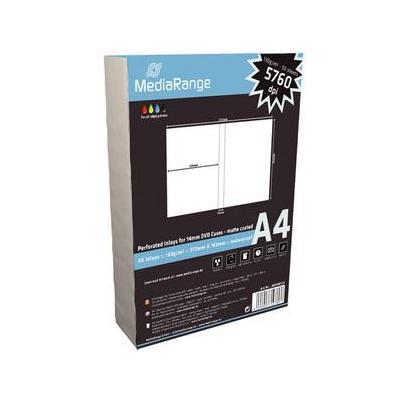 Mediarange papier: MRINK121 50shts A4 130gr white