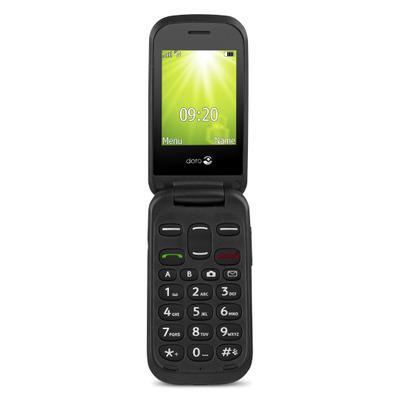 Doro 2404 - Alphanumeric keypad Mobiele telefoon - Zwart