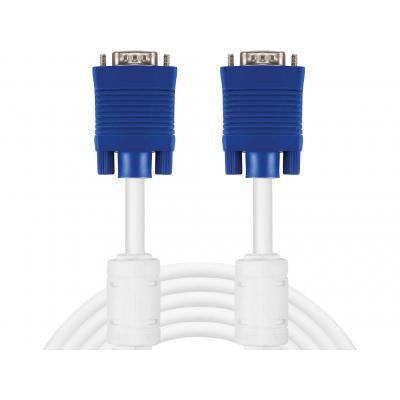 Sandberg VGA kabel : Monitor Cable VGA LUX10 m - Wit