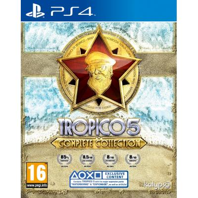 Kalypso game: Tropico 5 (Complete Collection)  PS4