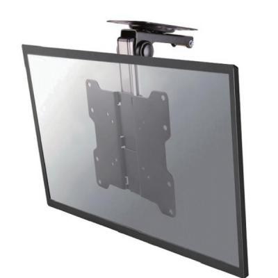 "Newstar flat panel plafond steun: De FPMA-C020BLACK is een plafondsteun voor flat screens t/m 40"" (102 cm) - Zwart"