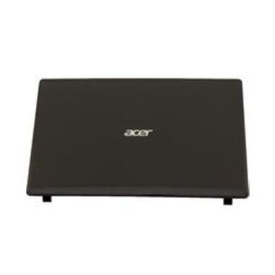 Acer notebook reserve-onderdeel: LCD Back Cover, Black - Zwart