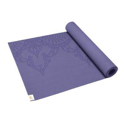Gaiam fitness, gymnastiek & gewichtstraining: Sol Sticky Grip Fitness- / Yogamat - Eggplant