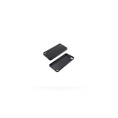 Estuff MP3/MP4 case: iPod Touch 5 Soft Silicon Case Matte Black - Zwart