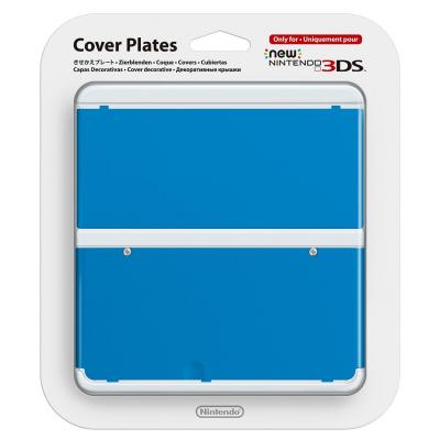 Nintendo portable game console case: New 3DS Cover 020 - Blauw