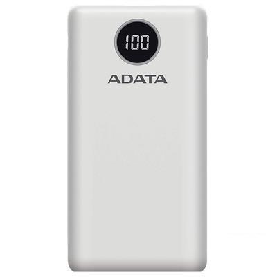 ADATA P20000QCD Powerbank - Wit