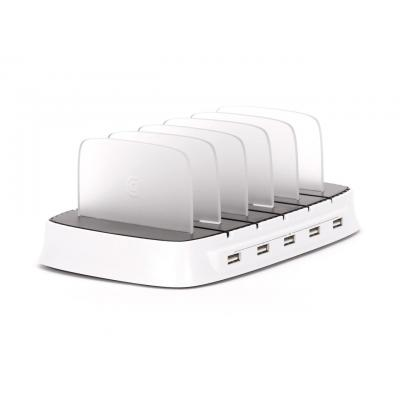 Griffin mobile device dock station: PowerDock 5 - Wit
