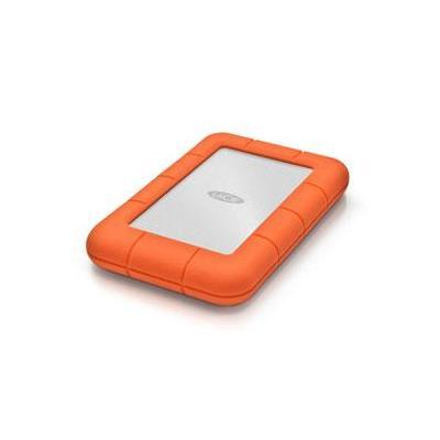 Lacie SSD: Rugged 1 TB SSD USB 3.0 - Oranje, Zilver