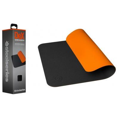 Steelseries muismat: DeX - Zwart, Oranje