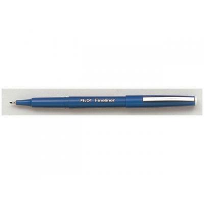 Pilot viltstift: fijnschrijver V 0,5 blauw met dop DS/12ST