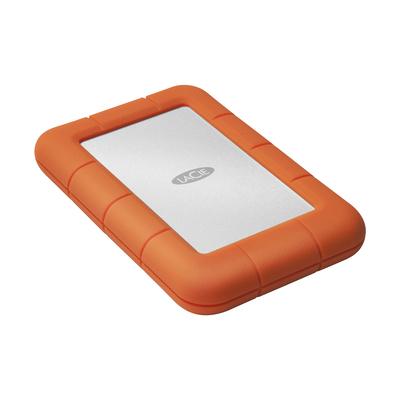 LaCie Rugged Mini Externe harde schijf - Oranje