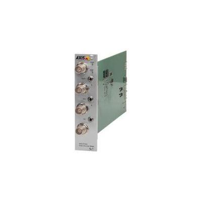 Axis P7224 Video server - Groen, Zilver