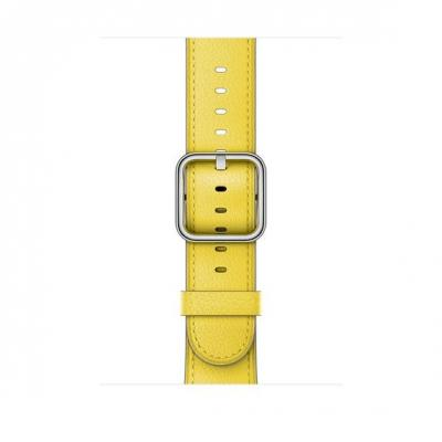 Apple 42mm Spring Yellow Classic Buckle - Geel