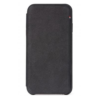 Decoded Leather Slim Wallet iPhone Xr - Zwart - Zwart / Black Mobile phone case