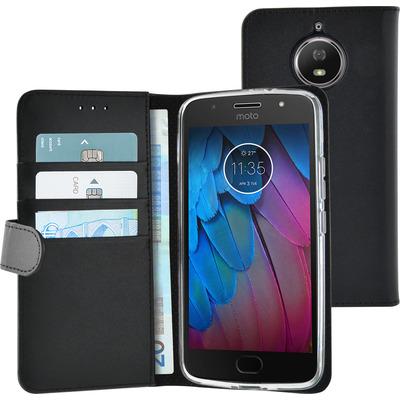 Azuri AZ-WALCLRMOG5SPL-BLK mobiele telefoon behuizingen