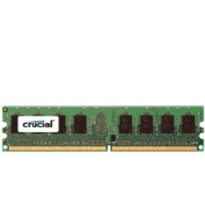 Crucial RAM-geheugen: DDR2 PC2-5300 DIMM 2GB