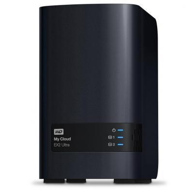 Western digital NAS: My Cloud EX2 Ultra 6 TB - Zwart