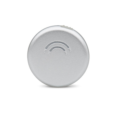 Orbit Stick-On - Silver Hardware