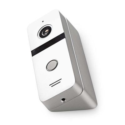 Nedis DOORC10AL Beveiligingscamera - Aluminium, Zwart