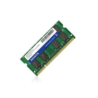 Adata RAM-geheugen: 2GB DDR2 800MHz SODIMM Kit