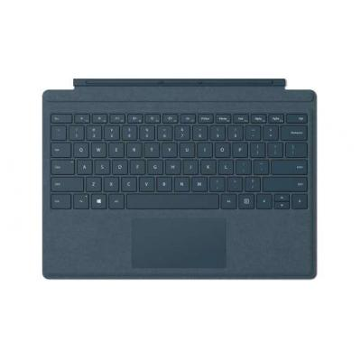 Microsoft mobile device keyboard: Surface Pro Signature Type Cover - Blauw, QWERTY