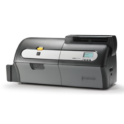 Zebra plastic kaart printer: ZXP7 - Zwart