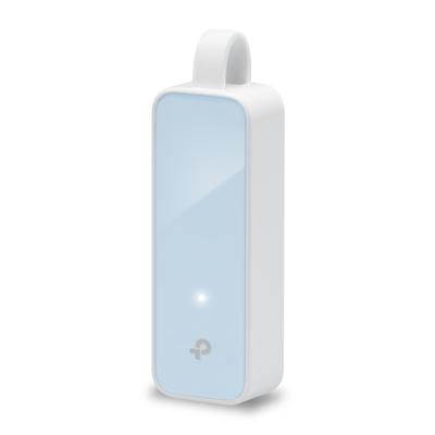 TP-LINK 1 10/100Mbps RJ45 Ethernet Port, 1 USB 2.0 Port, RTL8152B Netwerkkaart - Blauw,Wit