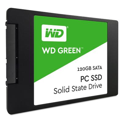 Western Digital Green SSD - Zwart, Groen, Wit