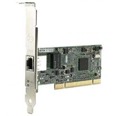 Hp netwerkkaart: Board PCI, 10/100/1000Base-T - Groen, Grijs