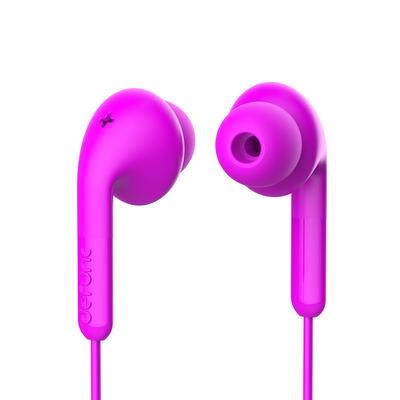 DEFUNC Basic Music Headset - Roze