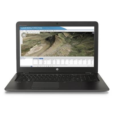 Hp laptop: ZBook 15u G3 - Zwart