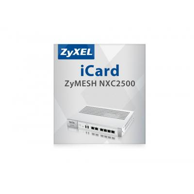 Zyxel iCard ZyMESH NXC2500 Software licentie