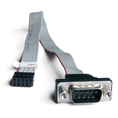 Shuttle Accessory PC0701 1 x COM compatible with SH67H3 SH67H7 and SH61R4. Seriele kabel - Zwart,Grijs