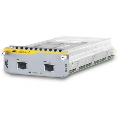 Allied Telesis AT-XEM-2XS netwerk tranceiver module