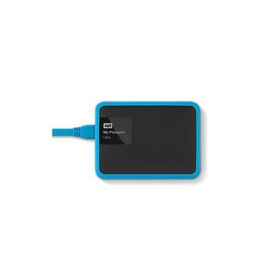 Western digital behuizing: WD Grip Pack 1TB Slate - Zwart, Blauw