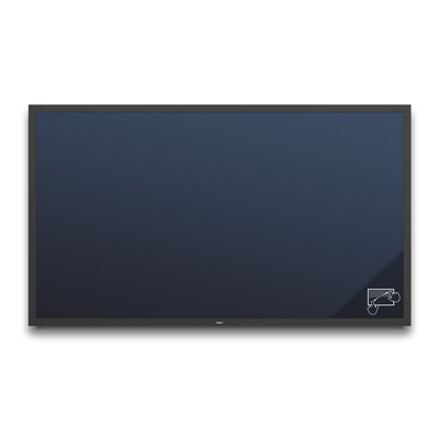 NEC MultiSync V801-TM Public display - Zwart