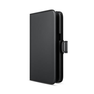 Behello mobile phone case: ZTE Blade V8 Wallet Case Black - Zwart