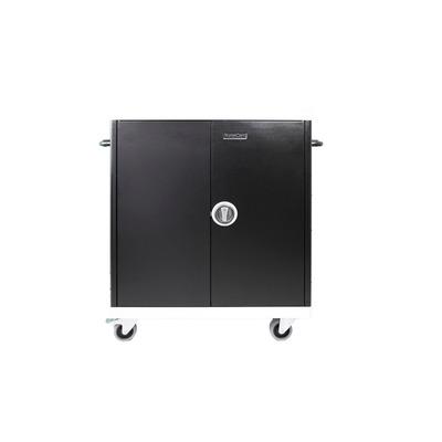 Leba NoteCart Unifit Macbook iPad Apple Portable device management carts & cabinet - Zwart, Grijs