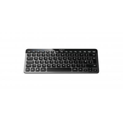 Logitech toetsenbord: K810 - Zwart, Grijs