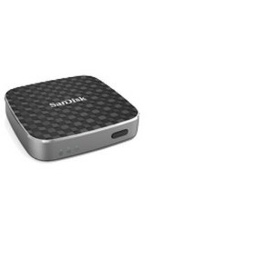 Sandisk mediaspeler: Connect Wireless Media Drive - Zwart
